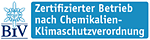 Zertifizierter Betrieb nach Chemikalien-Klimaschutzverordnung