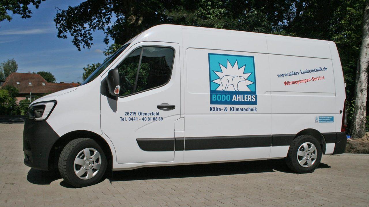 Ahlers Kaeltetechnik Oldenburg Ammerland Firmenfahrzeug 01