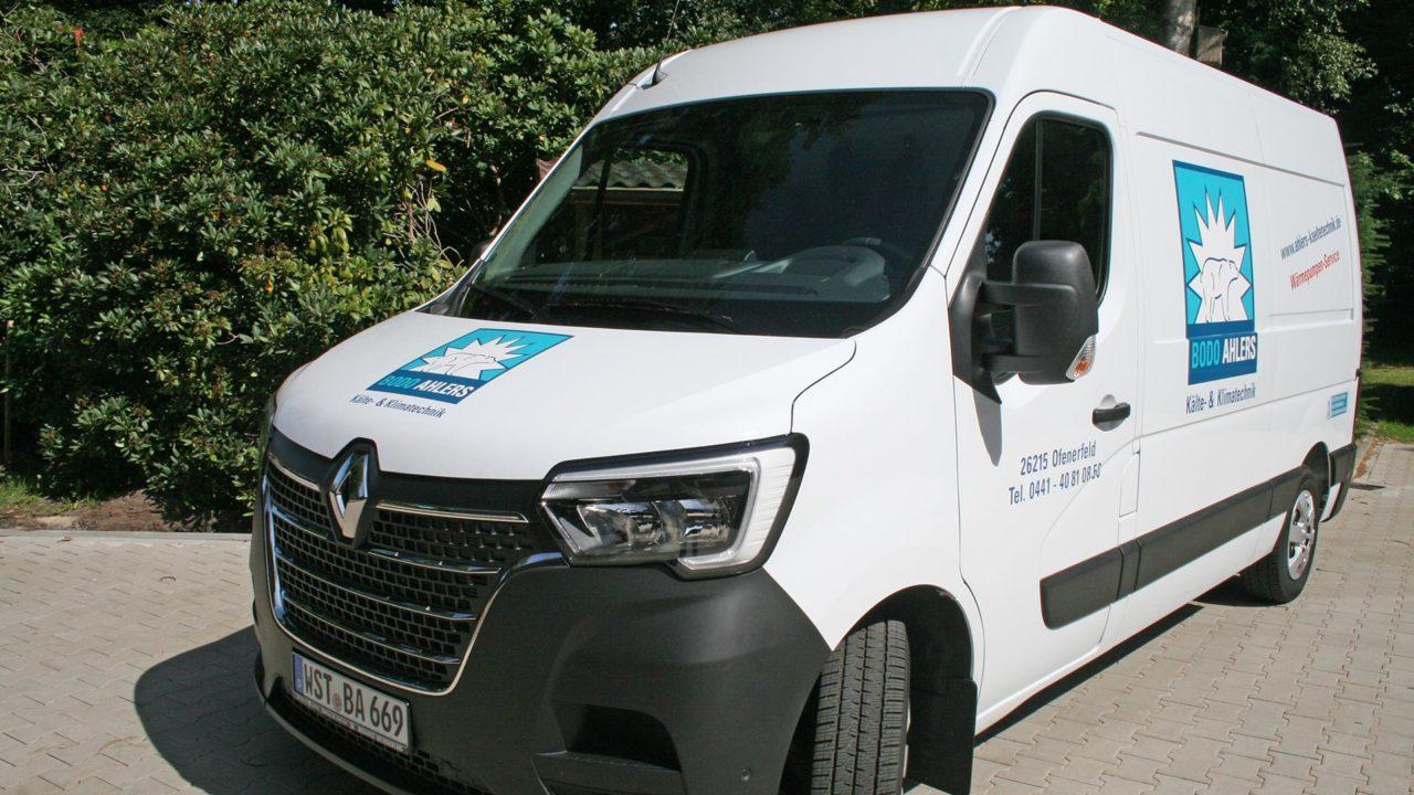 Ahlers Kaeltetechnik Oldenburg Ammerland Firmenfahrzeug 02